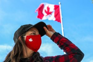 Canada 3 layer mask